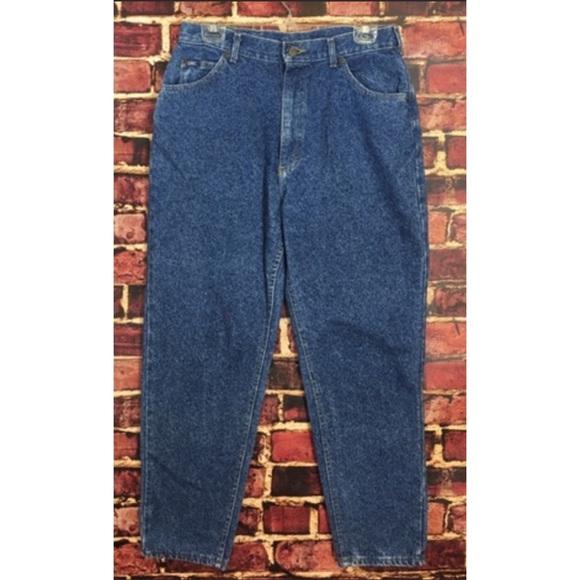 Lee Denim - Vintage 80's Lee High Rise Mom Jeans 14 Petite
